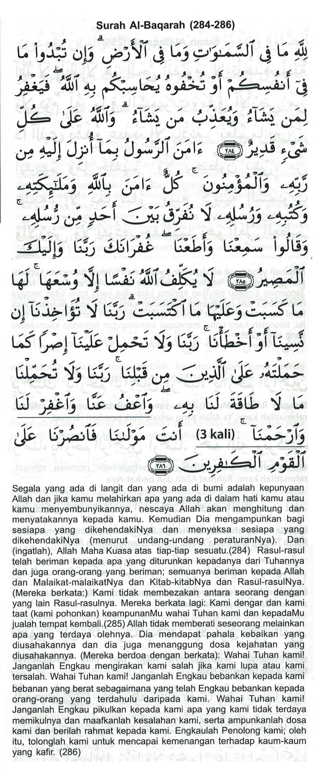 Tahlil Arwah Amalan Doa Harian